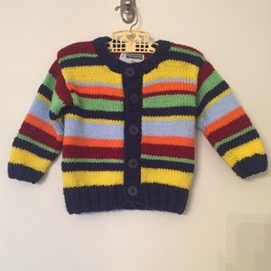 Other - Handmade Striped Cardigan